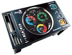 AeroCool PowerWatch Multifunction Panel - kolor czarny