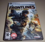 Frontlines Fuel of War PC DVD gra komputerowa PC