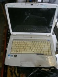 laptop acer aspire 5920G ZD1 zepsuty C2D T7300 hdd200GB GF8600M 512 ddr2, lcd15,4