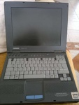 laptop compaq armada E500 PIII 128MB 20GB pp2060 fdd lpt rs usb cd