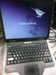 laptop COMPAQ PRESARIO 2500 P4 2.4GHz 40GB DDR512 15 cali