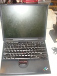 "laptop do diagnostyki ibm T22 rs232 LPT PIII 900MHz 512ram 40GB cdrw 13.3"" win2000"