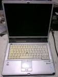 laptop lifebook E8110 Pent DC T2400@1.8 2,5GBram 15 XP bez hdd LPT RS232