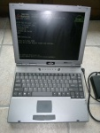 laptop Maxdata FX470T vision Cel.1GHz HDD20GB LCD14.1 DVD FDD RS232 LPT ram256MB lic.Win98
