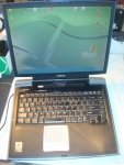 laptop Toshiba Satellite SA10-S203 Celeron 2,2 ghz, 40gb, 1gb, dvd, wifi, xp zasilacz