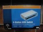 linksys kvm switch 4port sview 04 v.2,1-eu