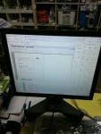monitor 17 Dell Ultra Sharp 1708FPi pivot 4usb dvi d-sub reg. wys.
