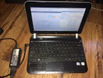 netbook HP MINI 210 3000SW zasilacz Win7 starter