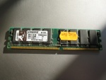 Pamięć DDR 512MB  pc3200 fsb 400 Kingston KVR400x64c3a/512